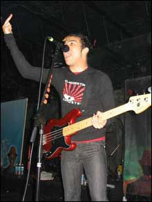 Fall Out Boy at The Factory in Fort Lauderdale on April 15, 2005