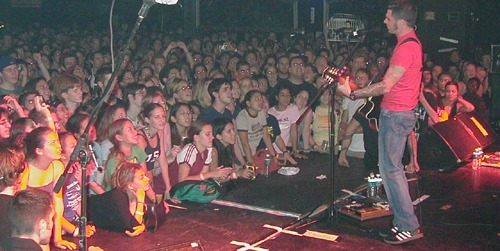 Dashboard Confessional live at Ovation in Boynton Beach on Wednesday, April 17, 2002