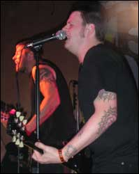 Against Me at Respectable Street in West Palm Beach on Sept. 6, 2005