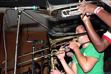 Streetlight Manifesto at Respectable Street in West Palm Beach on Oct. 2, 2005