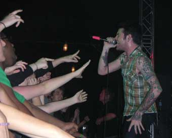 Senses Fail at The Mojo Room in Port St. Lucie on Jan. 16, 2007