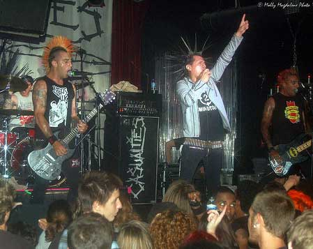 The Casualties at Studio A in Miami on June 20, 2007