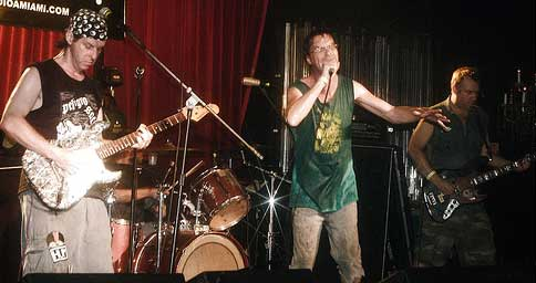 Subhumans at Studio A in Miami on Sept. 15, 2007