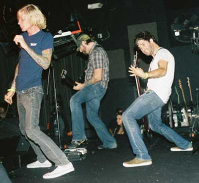Evergreen Terrace at Studio A in Miami on Sept. 27, 2007