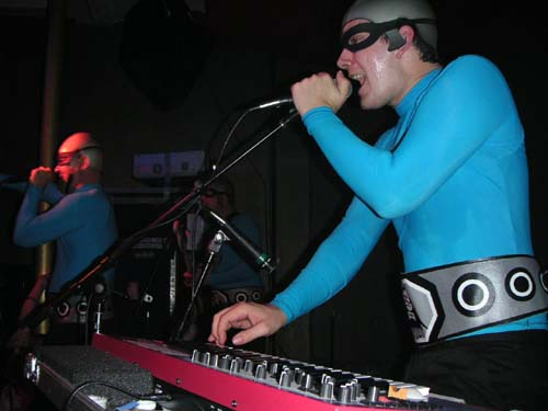 The Aquabats at Respectable Street in West Palm Beach on June 21, 2005